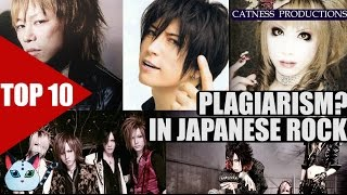 TOP 10: Plagiarism in J-Rock/Visual Kei?  | Catness Productions