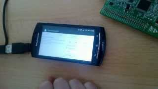 Android with STM32F4 Discovery over USB