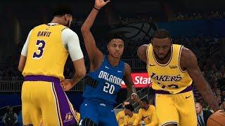 NBA Today 12/11 - Los Angeles Lakers vs Orlando Magic Full Game Highlights (NBA 2K)
