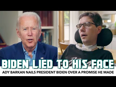 Ady Barkan Nails President Biden Over A Promise He Made In July