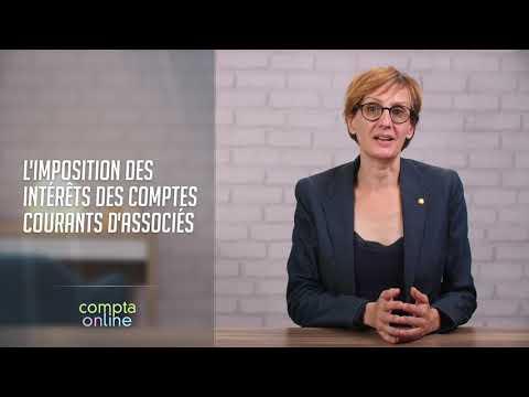 L'imposition des intérêts des comptes courants d'associés