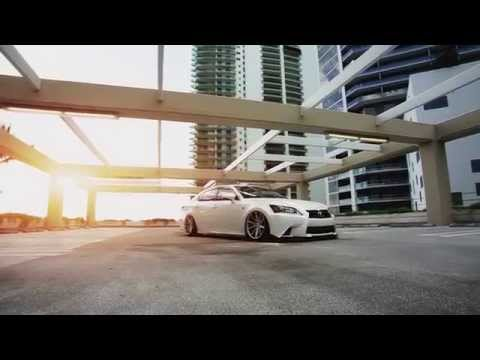 "Lexus GS 350 F-Sport | Vossen 20"" VFS-1 Concave Wheels | Video"