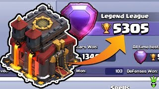 """HITTING 5300 TROPHIES AS A TH10! - TH10 Push to 6K - """"Clash of Clans"""""""