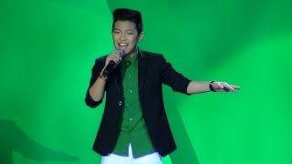 DARREN ESPANTO - One Moment In Time (On A High Note Concert!)