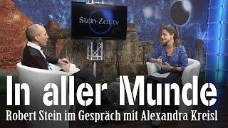 In aller Munde – Alexandra Kreisl bei SteinZeit
