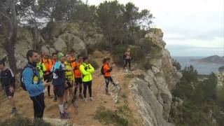 preview picture of video 'Trail running Volta a Andratx 2014'