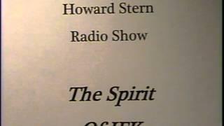 Howard Stern Radio Show - The Spirit Of  JFK