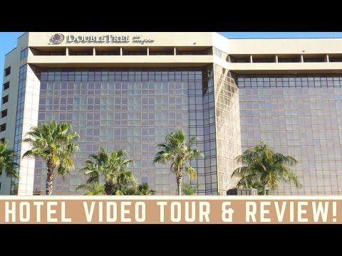Double Tree Hilton Miami Airport Hotel Tour & Review (Jr. Suite)