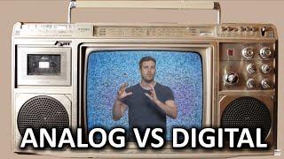Analog vs. Digital As Fast As Possible