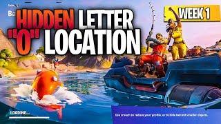 "Search Hidden ""O"" found in the Open Water Loading Screen - Fortnite Chapter 2 Season 1 Secret Letter"