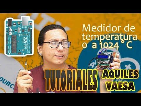 🔥 Cómo conectar un Termopar tipo K al ARDUINO con ayuda del MAX6675 (temperaturas de 0 a 1024 °c )
