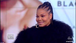 Janet Jackson Surprises The View