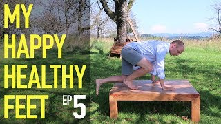 Stepping up (5) My happy healthy feet - Feldenkrais With Alfons