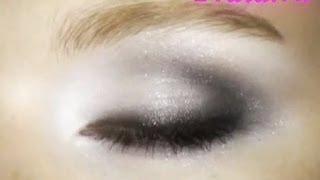 Универсальный вечерний макияж глаз, видео-инструкция