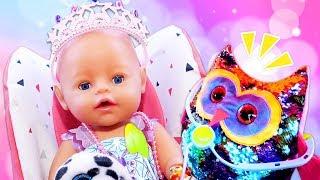 Spielspaß mit Puppen - Ein Tag mit Baby Born - 3 Kindervideos am Stück