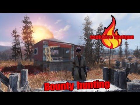 Explosive shotgun Bounty hunting | fallout 76 PS4 CZ