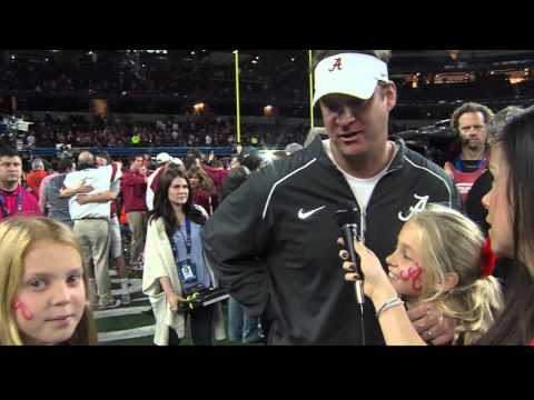 Lane Kiffin's Best Interview...on the hot seat with his kids