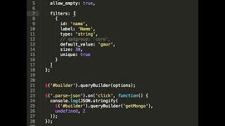 jQuery Query Builder in 5 minutes