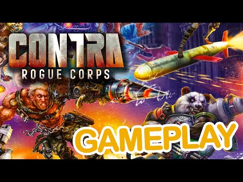 [Gameplay] CONTRA : Rogue Corps  #XboxOne | Gamesandmore.cl