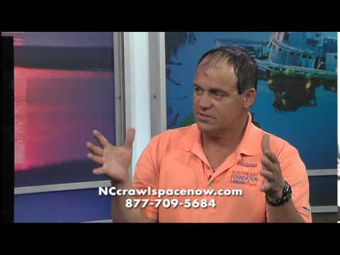 Southeast Foundation & Crawl Space Repair on Channel 6 - Part1
