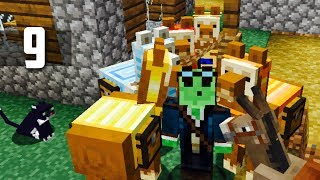 First Llama Caravan! : Ep.9 - Minecraft Nomadic Survival