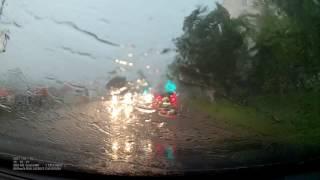 Ураган в Кирово-Чепецке. Начало урагана в считанные мгновения
