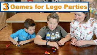 3 Lego Party Ideas For Kids Games | Family Fun Every Day