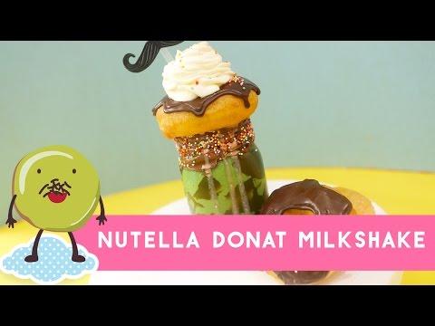 Video Resep Nutella Donat Milkshake (Nutella Donut Milkshake Recipe)
