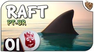 """Raft #01 """"À procura do Wilsooooonn"""" - Grátis! Vamos Jogar Gameplay Português PT-BR"""
