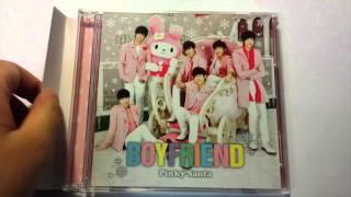 [UNBOXING&TRADE] BOYFRIEND- PINKY SANTA LE-A+LE-B+HMV LIMITED EDITION