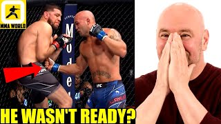 Nick Diaz was pressured into taking UFC 266 fight with Lawler had only 6 weeks to train-Sheilds,Dana