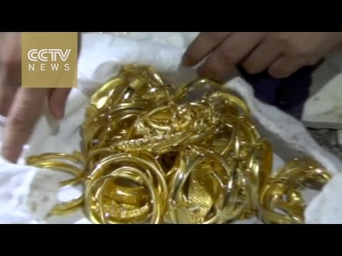 Thief buries 2.6 million yuan worth of gold underground