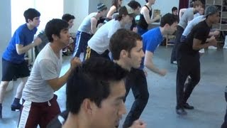 Newsies on Broadway - So You Think You Can Dance Veterans in Newsies the Musical