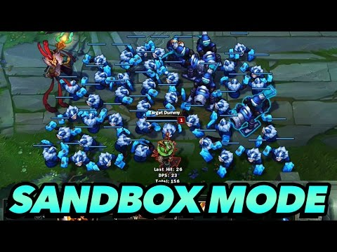 League of Legends Sandbox Mode REVEALED!