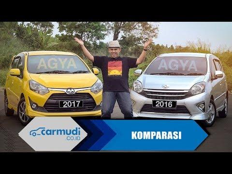 Фото к видео: Toyota Agya 1.2 2017 vs Toyota Agya 1.0 2016 - 10