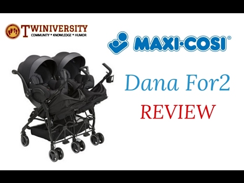 Maxi-Cosi Dana for2 Double Stroller Review