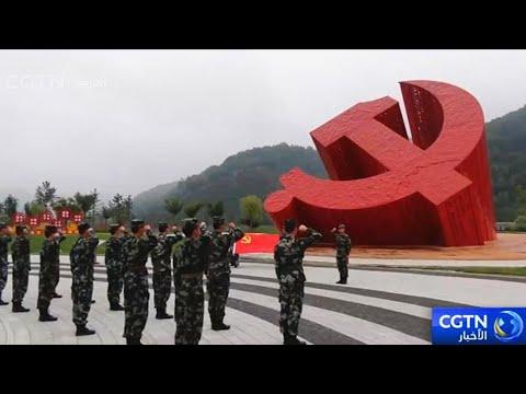 مئة ألف حمامة وطائرات مقاتلة في مئوية الحزب الشيوعي الصيني