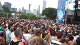 "Chromeo ""You're So Gangsta"" @ Lollapalooza Chicago 2008"