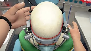 Using Motion Controls and Morphine to perform brain surgery in Surgeon Simulator