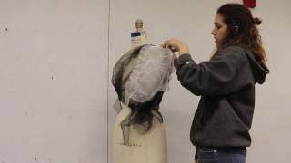 Heat Gun Fabric Manipulation - Shibori Technique