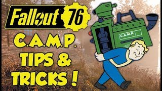 Fallout 76 C.A.M.P. Tips & Tricks! Best Resource Locations & House Tour!