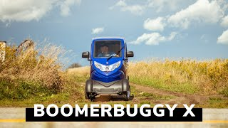 Fully Enclosed Mobility Scooter - Daymak Boomerbuggy X