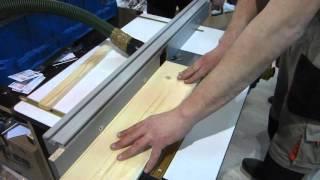 Профиль шина 100 мм алюминиевая для параллельного упора