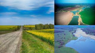 Полеты по весне. Запорожская область.FPV полеты..