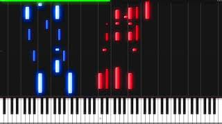 The Force Theme - Star Wars [Piano Tutorial] (Synthesia) // Piano Man