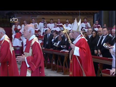 Messe à l'intention des cardinaux et évêques défunts cette année