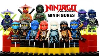 LEGO Ninjago 2015 Ghost Army + Airjitzu & Deepstone Robes KnockOff Minifigures Set 1 & 2