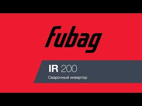 Сварочный инвертор Fubag IR 200
