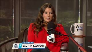 NASCAR Driver Danica Patrick Answers Fan's Question About Her Career - 3/23/17