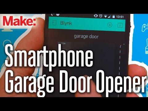 Build A Smartphone-Controlled Garage Door Opener
